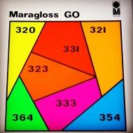 Глянцева, з хорошою покриває здатністю, швидкосохнуча Maragloss GO