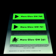 Люмінесцентна фарба для трафаретного друку Mara Glow GW