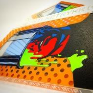 УФ-отверждается трафаретний фарба для друку по гофро- та іншим видам картону, паперу Ulltraboard UVBR