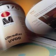 УФ-затверджуюча трафаретна фарба для оптичних дисків всіх форматів Ultradisc UVOD